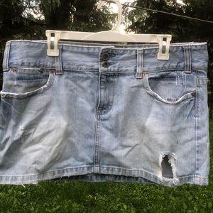 American Eagle denim skirt vintage